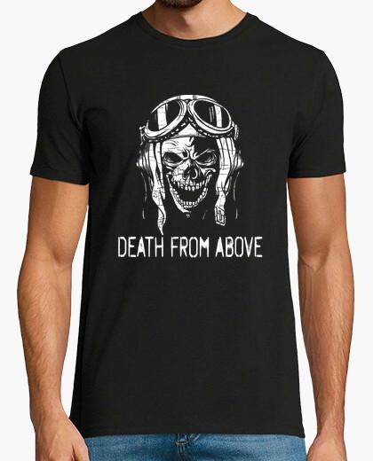 Camiseta Death From Above Skull Fighter Pilot