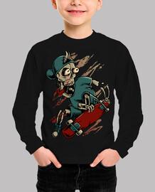 death skateboarder