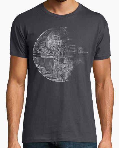 Tee-shirt Death star grey