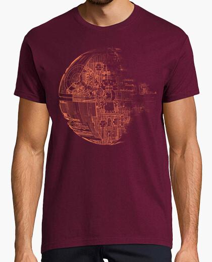 Death star orange t-shirt