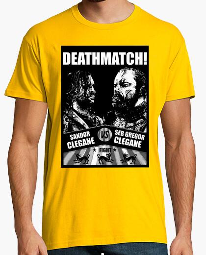 Camiseta Deathmatch!, Sandor Clegane vs Ser Gregor Clegane