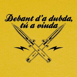 Tee-shirts Debant d'a dubda, tú a viuda