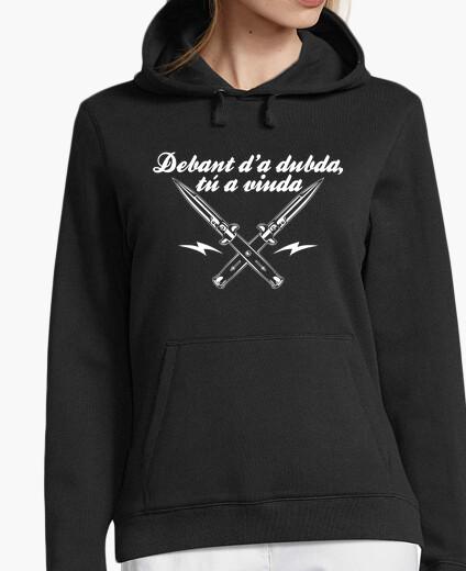 Debant d'a dubda, you a widow hoodie