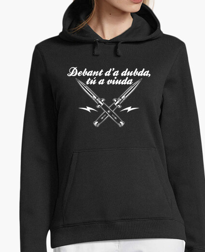 Debant d'a dubda, you a widow hoody