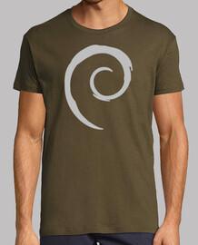 Debian, Hombre, manga corta, calidad extra