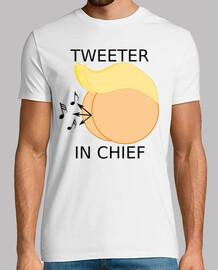 décharge atout - tweeter en chef