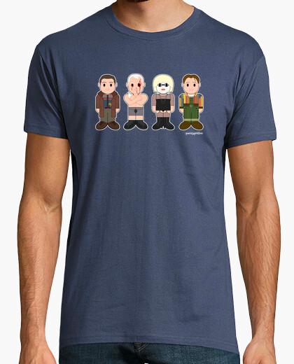 Camiseta Deckard, Roy Batty, Pris y Sebastian