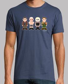 Deckard, Roy Batty, Pris y Sebastian