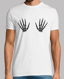 dedo esqueleto de las manos