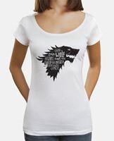 Deep collar women T-Shirt & Loose Fit