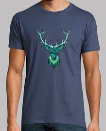 deer blue hipster