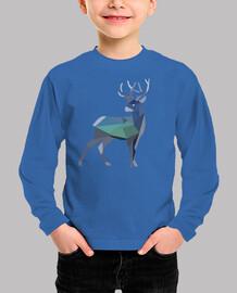 deer geometric design
