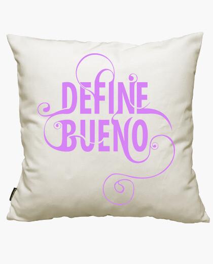 Funda cojín Define Bueno - Hermosas...