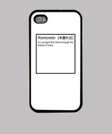 definizione komorebi