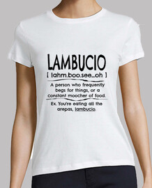 definizione lambucio venezuelano parola