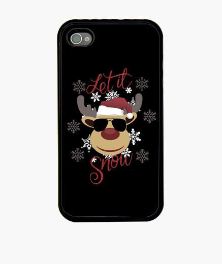 Funda iPhone deja que nieve