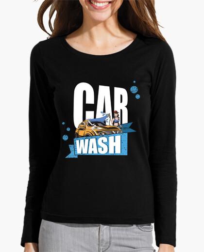 Camiseta deja que tu coche brille