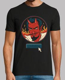 dejar de seguir la camisa del diablo para hombre