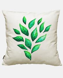 dekorative abstrakte grüne Blätter