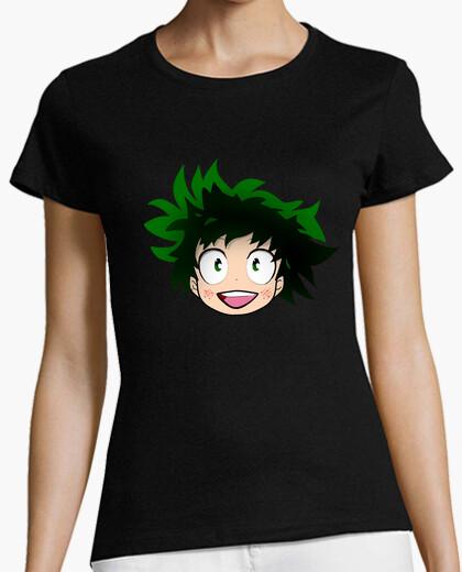Camiseta Deku, boku no hero academia.