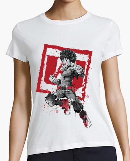 Camiseta Deku sumi-e