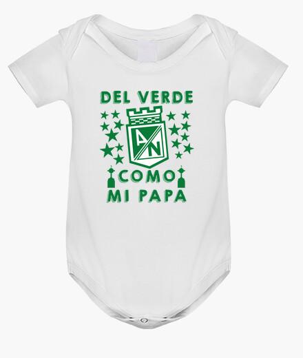 Ropa infantil Del Verde Como Mi Papá