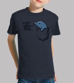 delfín en un bolsillo