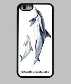 Delfín listado (Stenella coeruleoalba) funda iphone 6