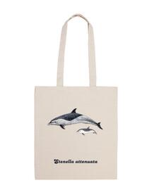 Delfín moteado pantropical bandolera bolso