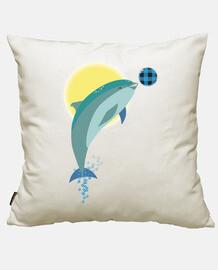 Delfín Rulo fondo cielo