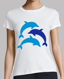 delfines azules