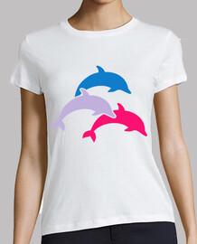 delfines de color