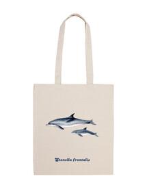 Delfines moteados del Atlántico bandolera bolsa