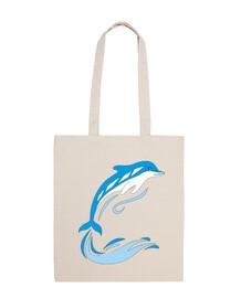delfino tra le onde