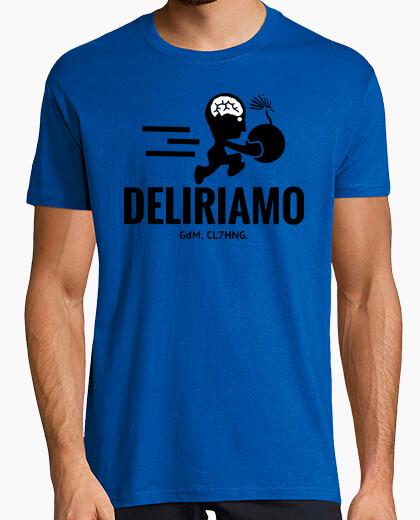 T-shirt Deliriamo Bomber dry