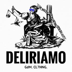 T-shirt DELIRIAMO CLOTHING (GdM72)