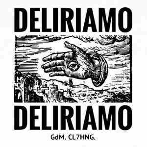 T-shirt DELIRIAMO CLOTHING (GdM78)