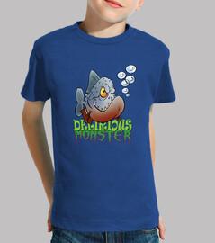Delirious monster Piranha