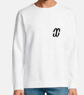 {delirivm} - white sweatshirt