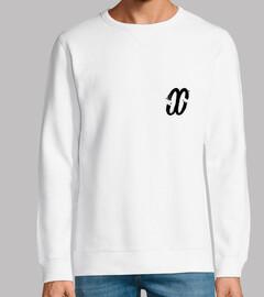 {delirivm} — white sweatshirt
