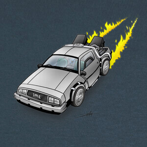 Camisetas DeLorean