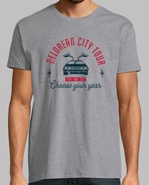 Delorean city tour