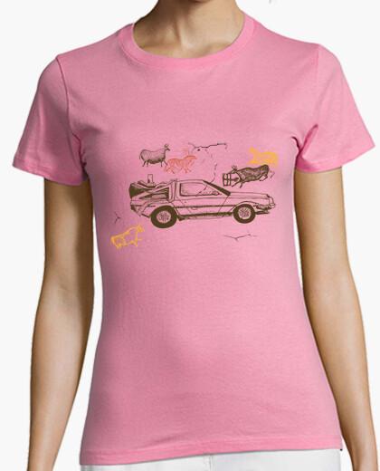 Camiseta deloreano prehistórico