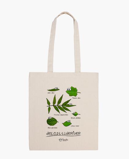 Delosttuderiver (light background) bag