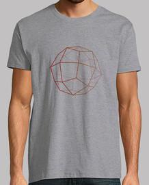 Deltoid, Tee shirt homme, Gris chiné, qualité supérieure