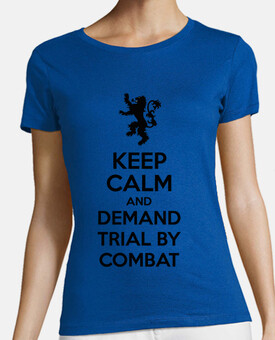 Demand trial by combat - Tyrion