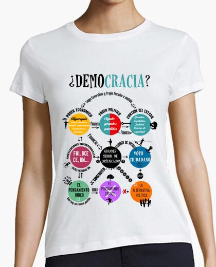 Camiseta Democracia. Los 9 círculos ()2-B2