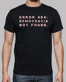 Democracia not found error 404