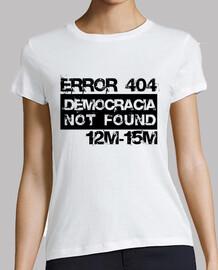 démocratie erreur 404 not trouvé