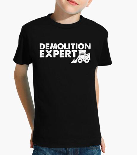 Abbigliamento bambino Demolition Expert